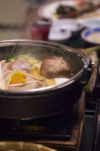 Sukiyaki in Gunma, Japan