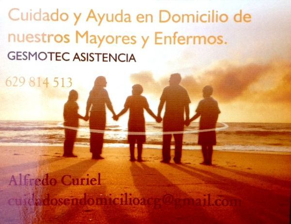 Cuidados y ayuda a domicilio GESMOTEC ASISTENCIA. http://www.generacionnatura.org/directorio/bienestar-personal/98-gesmotec.html