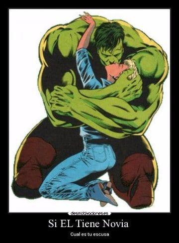 memes de hulk enamorado