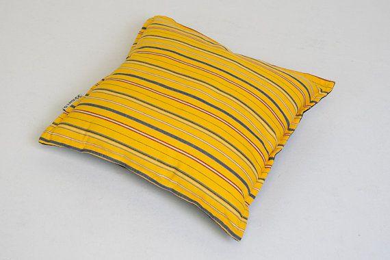 Ethnic pillow 40x40cm with  Estonian pattern Muhu by Etnodesign