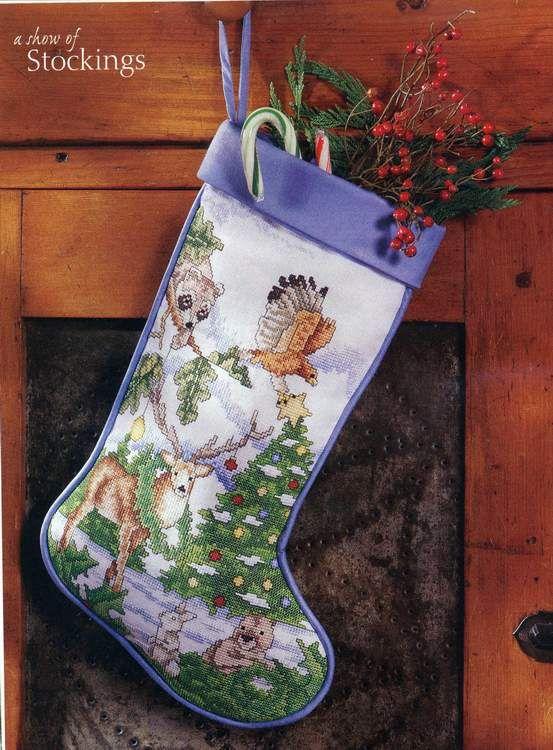 133 best Punčochy images on Pinterest | Christmas cross stitches ...