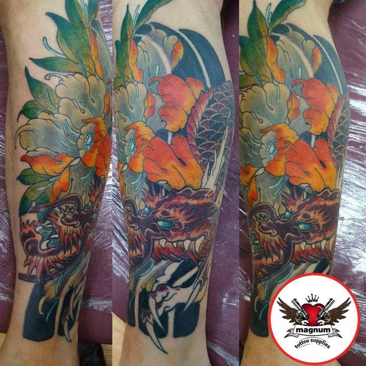 Zack Chiswell's fantastic piece done using #magnumtattoosupplies   #japanesetattoo #japanesetattoos #radiantcolorsink #peonytattoo #radiantcolorscrew #orientaltattoodesign #orientalart #orientaltattoo #asiantattoo #asian_inkandart #tattoo_artwork #tattoo_art_worldwide #sumi #zackchiswell #familyink #familyinktattoo #tattoo #tattoos #uktta  #txttooing