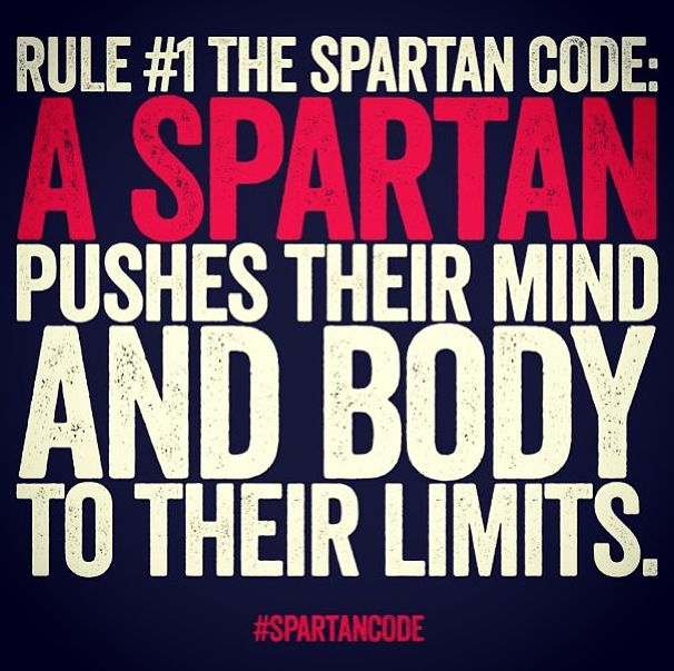 Push it today, Spartans!  AROO!  #Fitness #Health #Exercise #SpartanRace