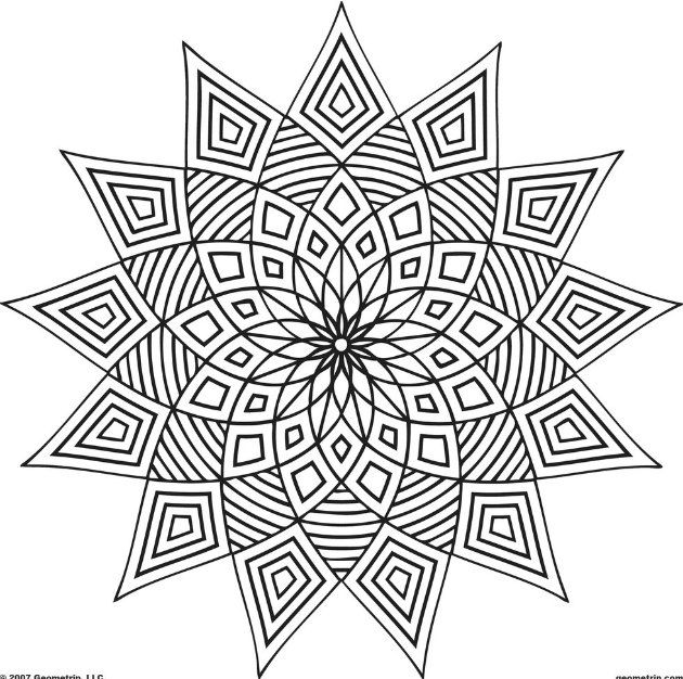 515169644854437585 on Geometric Coloring Pages