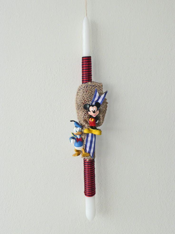 Λαμπάδα Disney Mickey Mouse & Donald