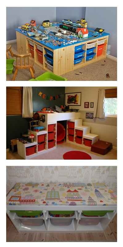 Ikea Trofast Drawers DIY