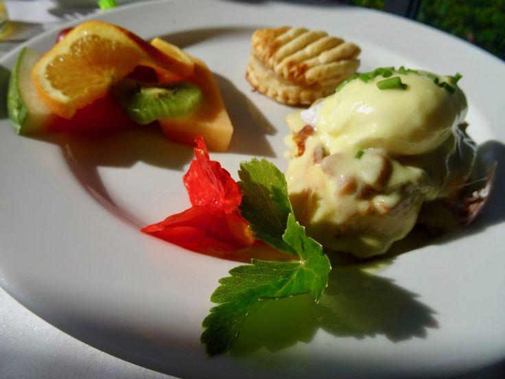 Breakfast at Auberge Havre-sur-Mer