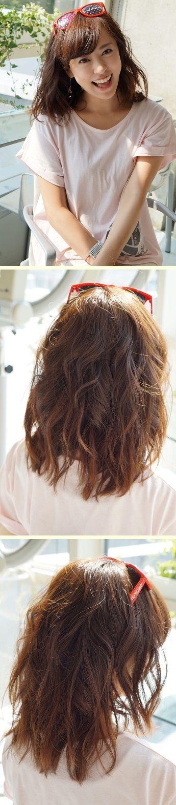 短くってもアレンジ可能な「ボリューム巻き巻き」ヘア。 かわいすぎる「スポーツ観戦ヘア」アレンジ実例7つ フェスやライブなどアクティブな日におすすめ☆ #髪型 #ヘアスタイル #ヘアアレンジ #hairstyle