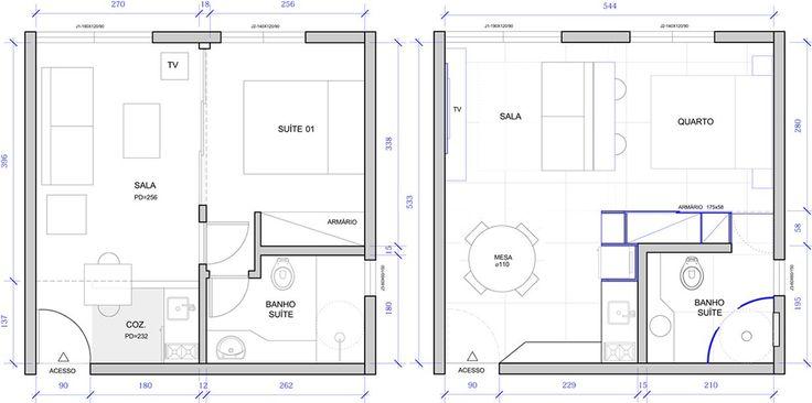 Cerchi uno spunto per arredare un monolocale di 30 mq? Ecco il progetto perfetto di un designer che ha pensato proprio a tutto!
