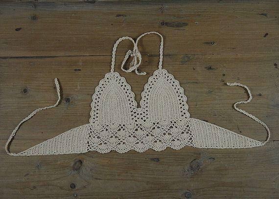 Double crocheted handmade crochet camisole by Handmadehomeno1