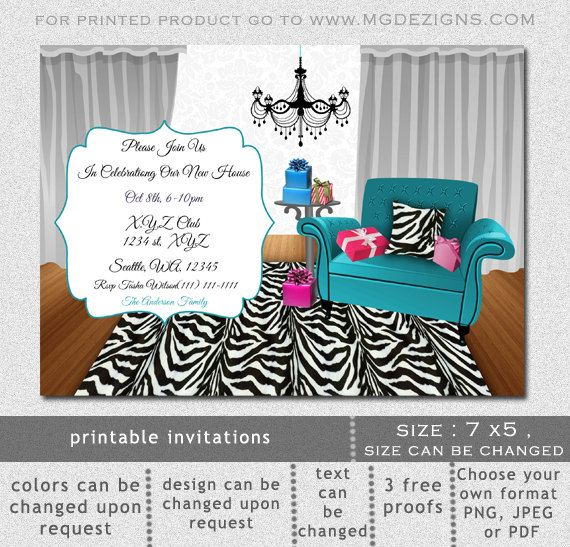 10 best Housewarming Invitations images on Pinterest Sofas, Blue - housewarming invitation template