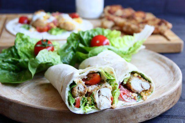 Chicken Wraps ♡ Küchenmaschine Rezepte Pinterest Thermomix
