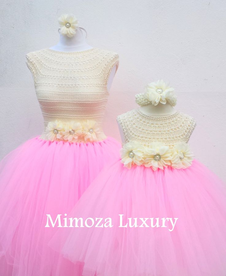 Mother Daughter Matching Dresses Adult tutu dress, Bridesmaid dress, Women tutu dress, Wedding dress, Hen party dress, Adult Princess dress by MimozaLuxury on Etsy https://www.etsy.com/listing/237201036/mother-daughter-matching-dresses-adult