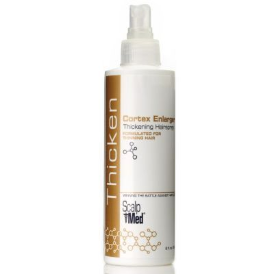 Scalp Med Cortex Enlarger Thickening Hairspray 8 oz