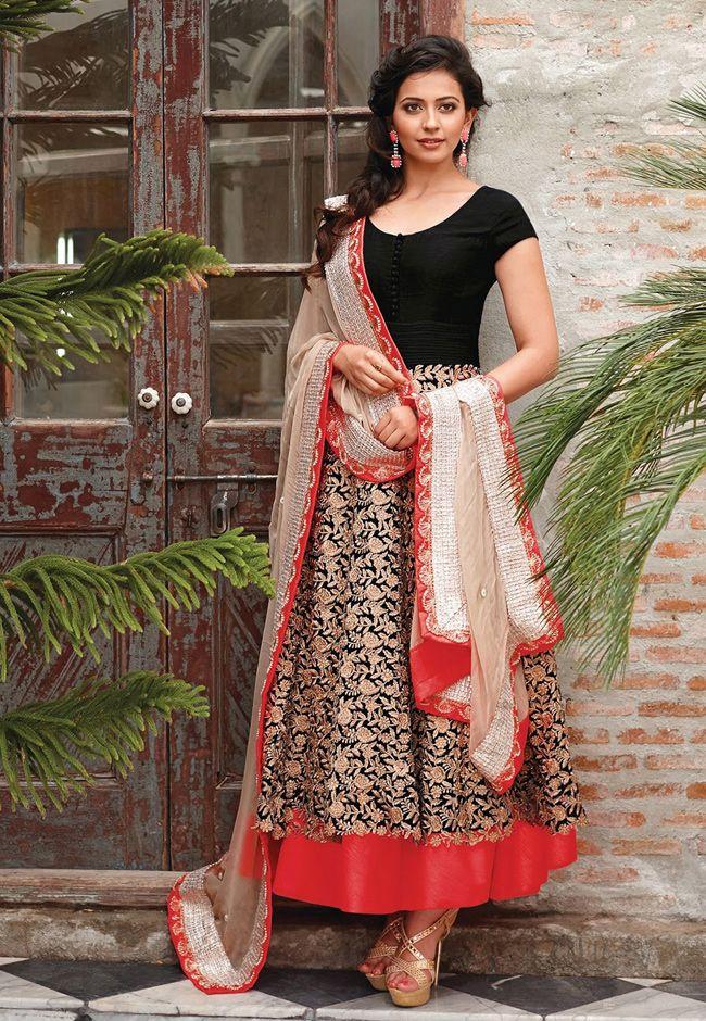 http://www.utsavfashion.com/salwar/black-net-double-layered-readymade-abaya-style-churidar-kameez/kuf5551-itemcode