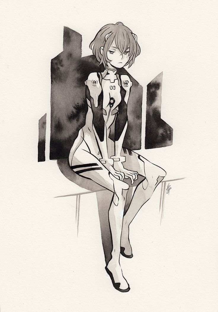 Ink commission of ayanami rei for puterchip ink commission of ayanami rei for puterchip pinterest neon genesis evangelion neon and anime sciox Image collections