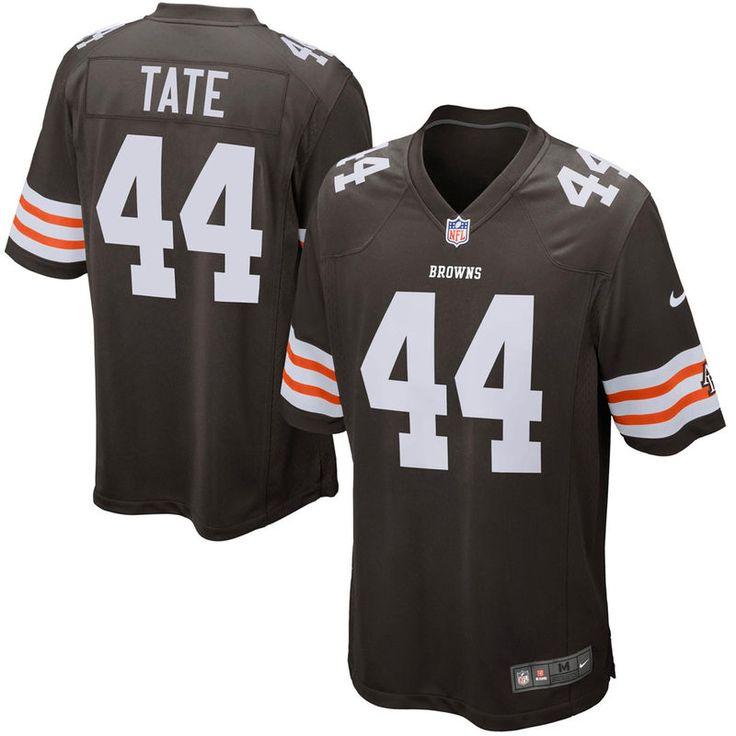 Ben Tate Cleveland Browns Historic Logo Nike Game Jersey - Brown