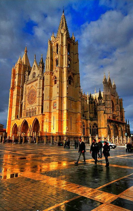 Catedral de León, Spain