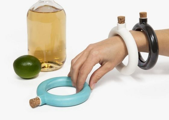 This flask bracelet. | 21 Ridiculously Cool Gifts College Students Never Knew They Needed