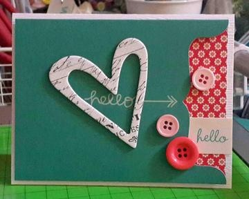 hello hello card by rosaliejb at Studio Calico