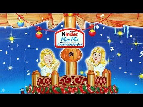 Christmas - Kinder Maxi Mix - Advents Kalender - Ferrero - Unboxing - YouTube