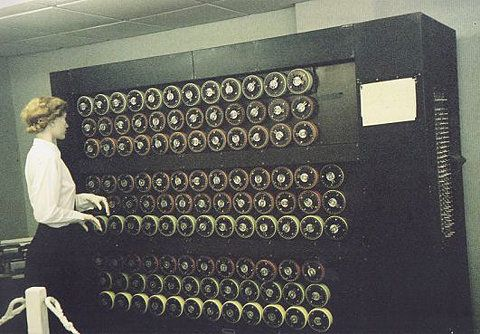 Bombe image - Photos: Code makers and breakers of WWII era - CNET News