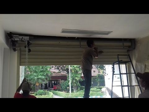 ROLLING DOOR INDUSTRI  Pontianak Kalimantan Barat  WA  0819 0771 7481  TLP 0822 1182 8759 - YouTube