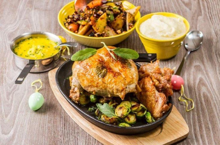 Kylling med appelsinsaus og rotgrønnsaker