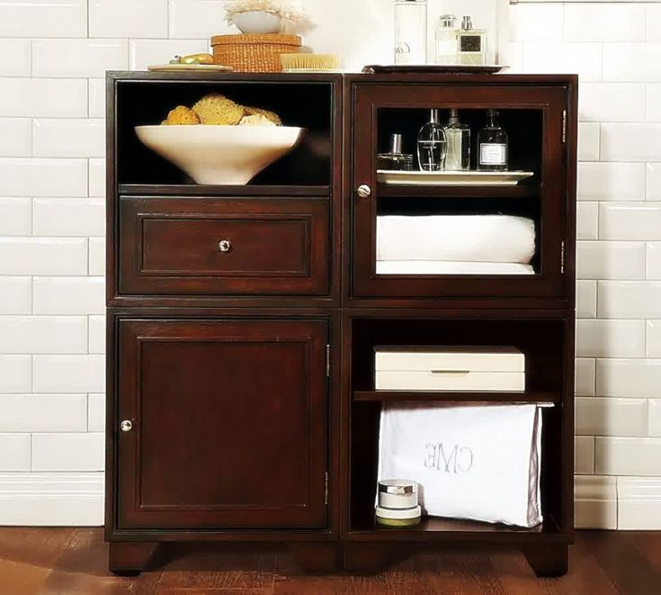 Bathroom Storage Cabinets Floor