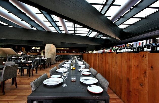 Mestizo Restaurant, Vitacura - Santiago, Chile, Restaurants.   SOPHIE! Someone else took a pic of the table we sat at!