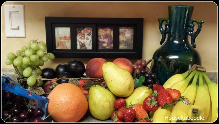 Tuscan Fruit Kitchen Decor