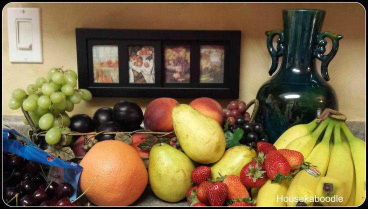 Tuscan Fruit Kitchen Decor