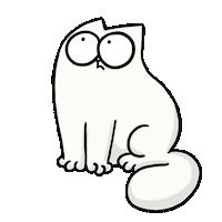 Кот саймон гифка