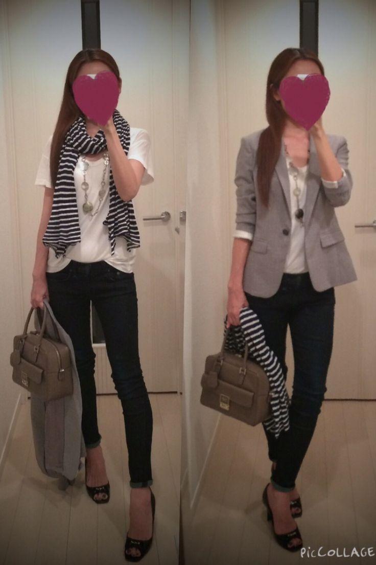 秋冬コーデ用に買ったシャツを夏っぽく(笑) |外資系OLの今日のコーデブログ - ファッションブログ|Ameba (アメーバ)