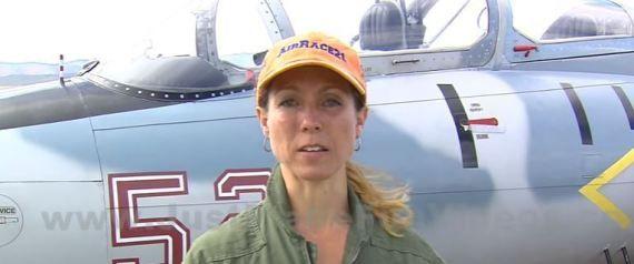 AMYNA News and Views: Η πιλότος μαχητικού που η κυβέρνηση της ζήτησε να ...
