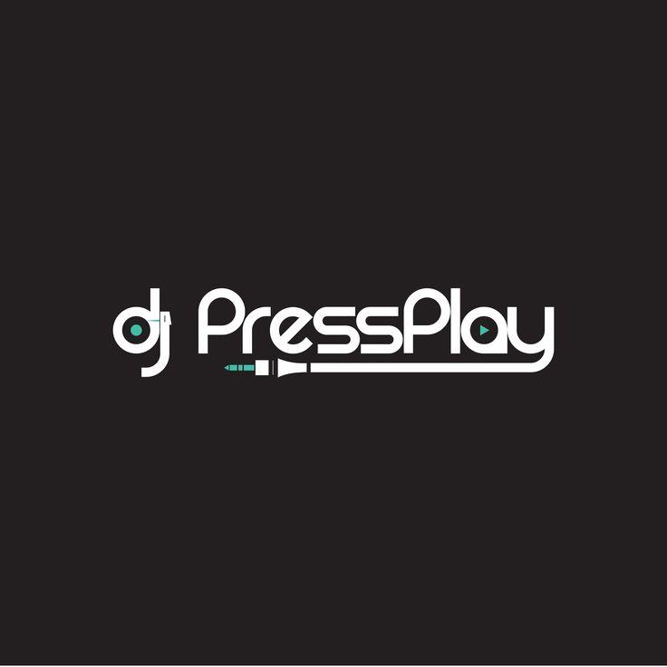 DJ PressPlay Logo : Aurora_Logos : Pinterest : Logos