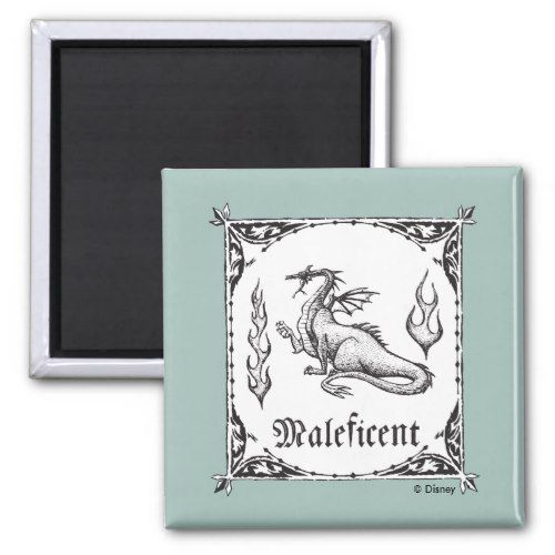 Sleeping Beauty Maleficent Dragon Gothic Magnet Zazzle