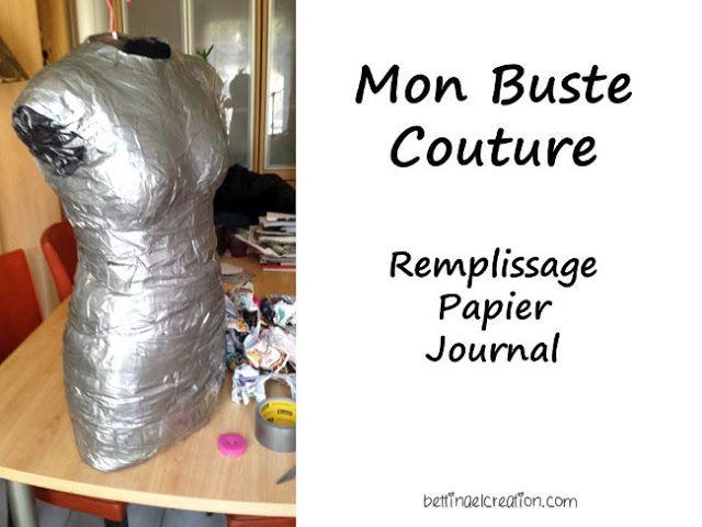 Diy: Mon Mannequin de couture sur mesure Bettinael.Passion.Couture.Made in france