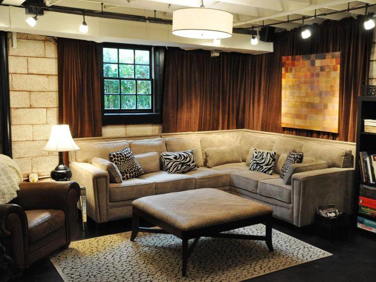 Luxury Decorate Unfinished Basement
