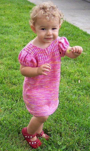 Ravelry: Sonatina Dress pattern by Karen Semo