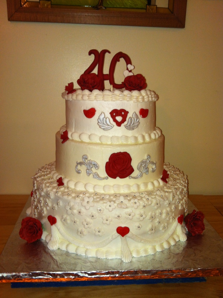 192 best 40th Wedding Anniversary - Ruby images on ...