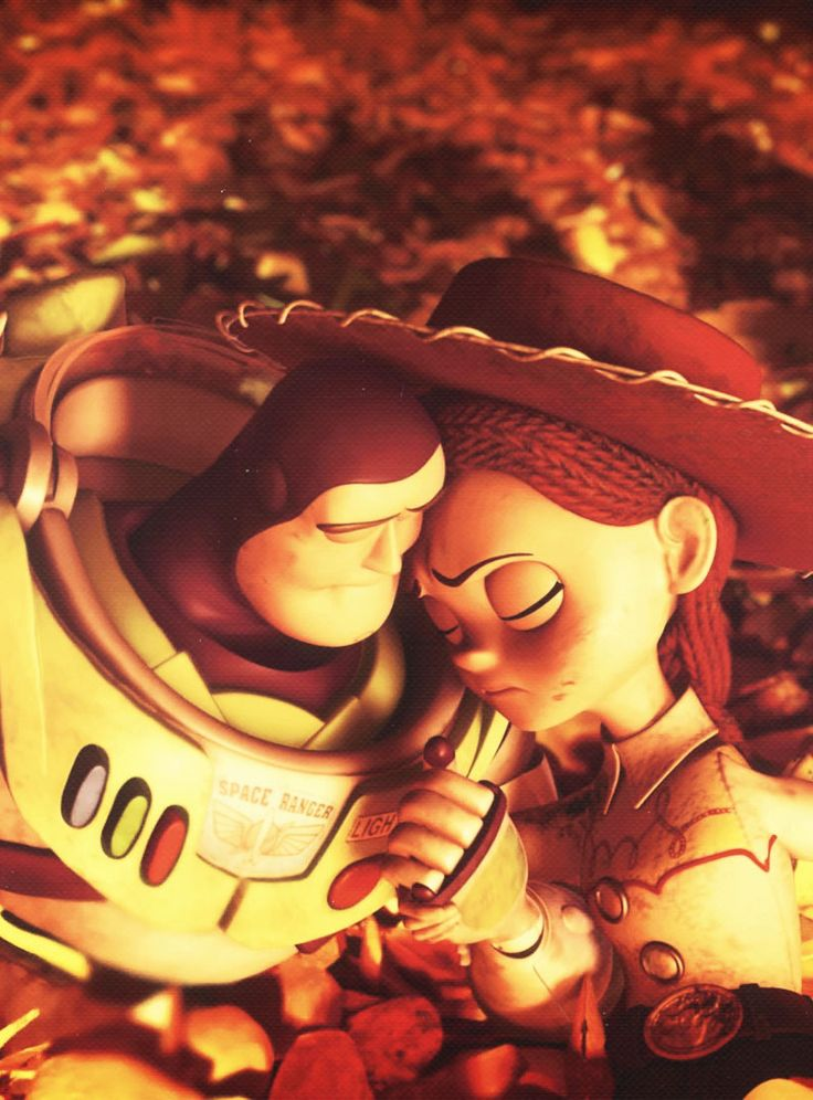 Buzz and Jessie. This is where I started crying in the movie. Okay I was already crying... :*(
