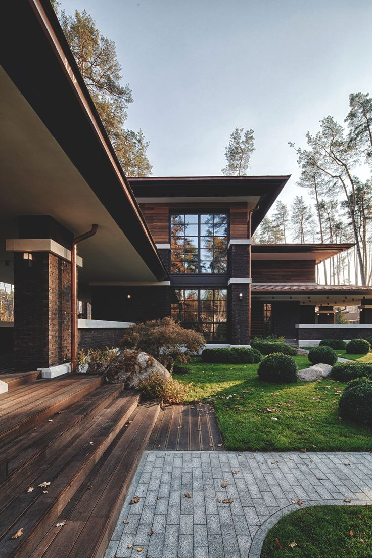 25 Modern Home Design With Wood Panel Wall: 25+ Best Ideas About Modern Architecture House On