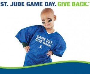 Game Day. Give Back to St. Jude's: Childrens Hospital, St Judes Childrens, Jude Children S, Children S Hospital Cancer, Game, Kid