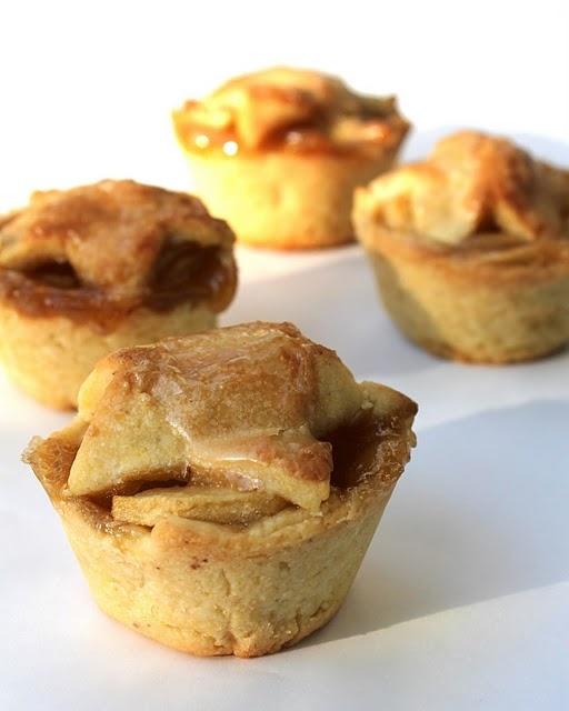 Brandy Apple Mini Pies with Cornmeal Crust | Recipe