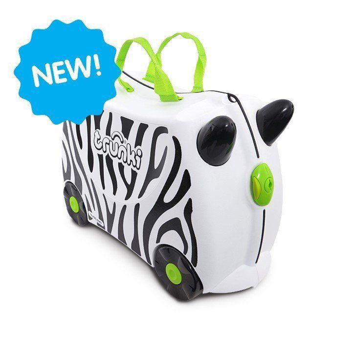 Trunki Trunki Tier Kinderkoffer Zimba das Zebra