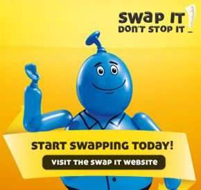 Image from Australian 'Swap It, Don't Stop It' anti-obesity campaign