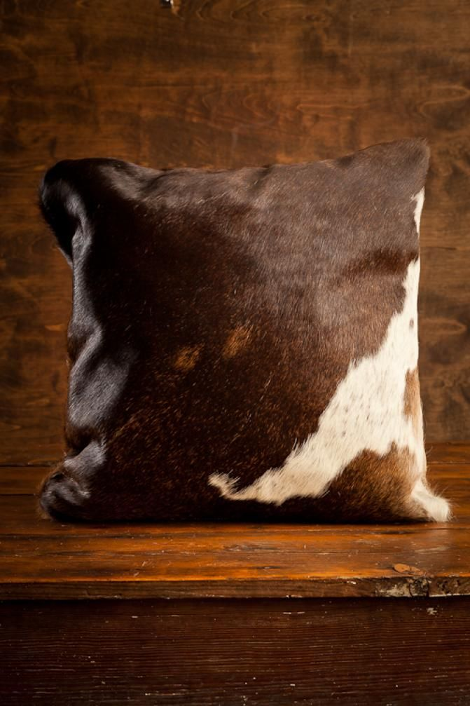 Brazilian Cowhide Pillow and other more different cowhide pillows available at www.ecowhides.com