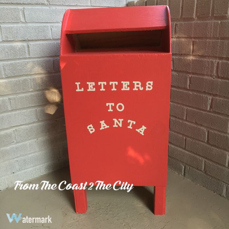 a personal favorite from my etsy shop https wwwetsycom With letters to santa mailbox prop