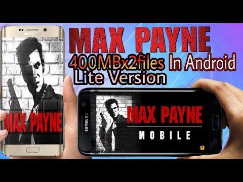 download game max payne mobile uptodown
